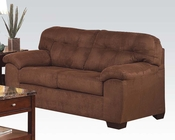 Loveseat in Espresso Microfiber Aislin by Acme Furniture AC50381