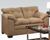 Loveseat Lucille Latte by Acme Furniture AC50361