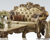 Loveseat Vendome Gold by Acme Furniture AC530L