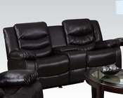 Loveseat w/ Console and Glider Torrance by Acme AC50576