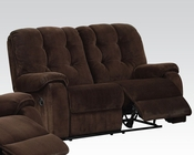Loveseat w/ Motion Nailah by Acme Furniture AC51146