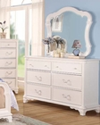 Luxurious Dresser w/ Mirror Ira by Acme Furniture AC30150DM