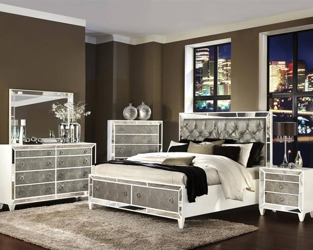 Luxury Bedroom Set Monroe By Magnussen MG B2935 54SET