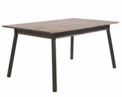 Macbeth Dining Table by Euro Style EU-09840WAL