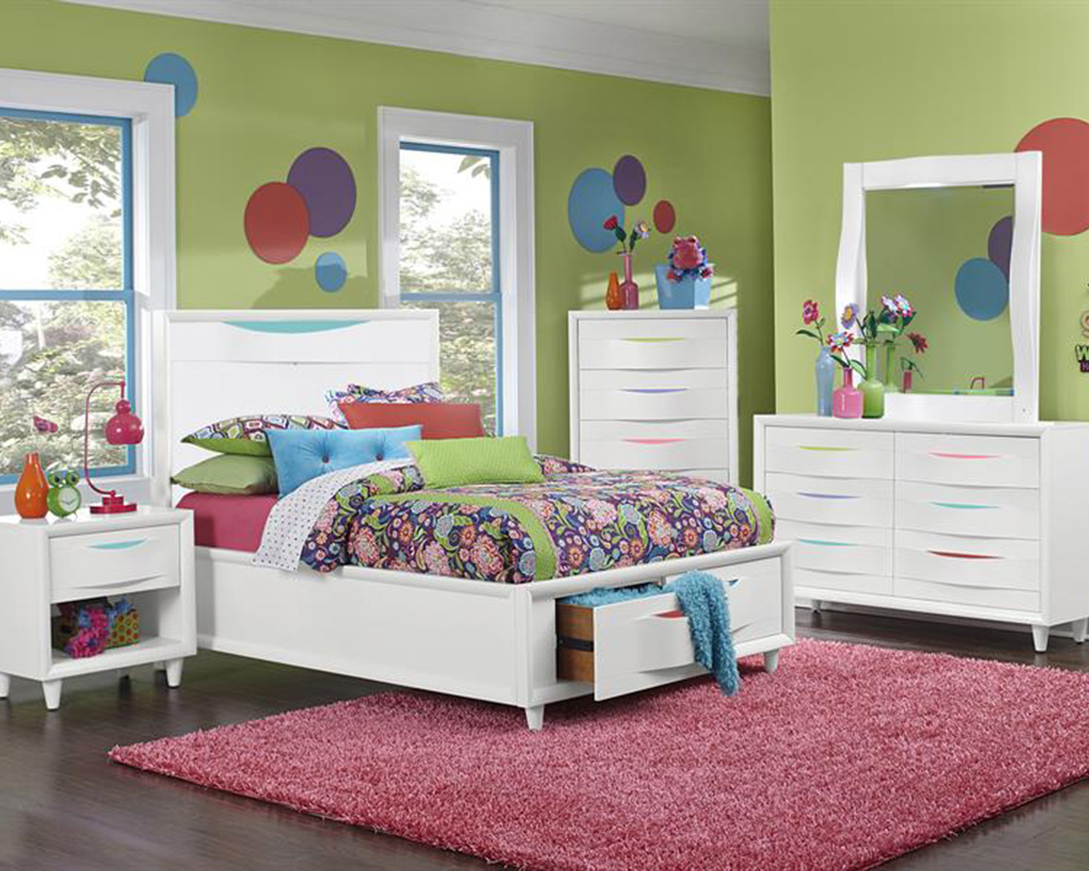 Magnussen Bedroom Set Crayola Colors MG Y2647 51SET