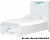 Magnussen Complete Island Straight Bed Crayola Colors MG-Y2647-51BED