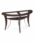 Magnussen Demilune Sofa Table with Shelf Kayla MG-T2286-75