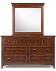 Magnussen Double Dresser & Mirror Harrison MG-B1398-22-40