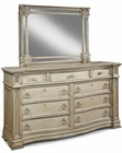 Magnussen Drawer Dresser and Landscape Mirror Bellevue MG-B2296-20-40