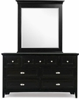 Magnussen Drawer Dresser and Portrait Mirror Bennett MG-Y1874-42