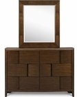 Magnussen Drawer Dresser and Portrait Mirror Twilight MG-Y1876-42