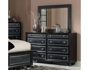 Magnussen Drawer Dresser & Mirror Onyx MG-B2229-40