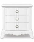 Magnussen Drawer Nightstand in White Gabrielle MG-Y2194-01