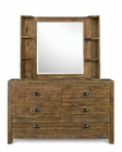 Magnussen Dresser and Landscape Mirror Braxton MG-Y2377DM