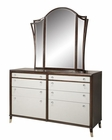 Magnussen Dresser and Mirror Seventh Avenue MG-B3059DM