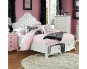Magnussen Island Bed with Storage Footboard Gabrielle MG-Y2194SBED