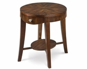 Magnussen Oval End Table Aster MG-T1408-07