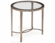 Magnussen Oval End Table Copia MG-T2114-07