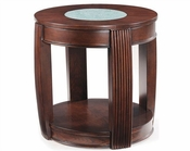 Magnussen Oval End Table Ino MG-T1738-07