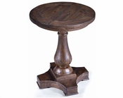 Magnussen Round Accent End Table Densbury MG-T1695-35