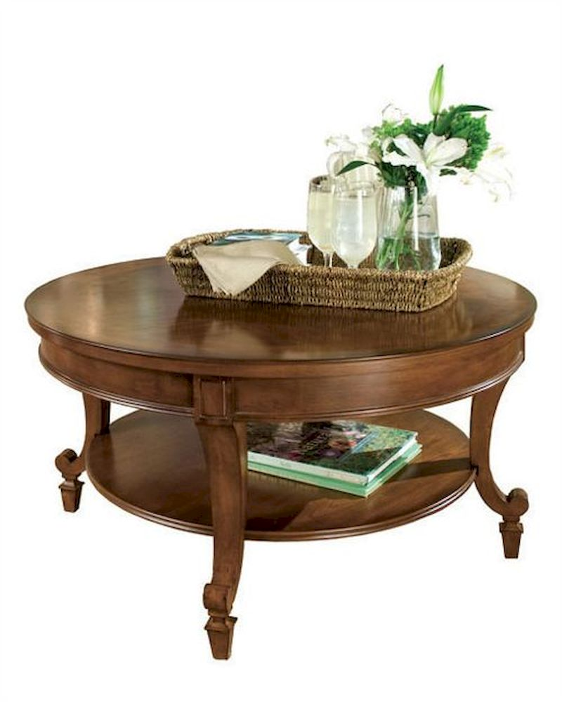 Magnussen Home Cranfill Round Cocktail Table: Magnussen Round Cocktail Table Aidan MG-T1052-45