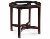 Magnussen Round End Table Juniper MG-T1020-05