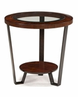 Magnussen Round End Table Quasar MG-T1926-05