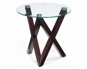 Magnussen Round End Table Visio MG-T2282-05