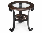 Magnussen Round End Table Winthrop MG-T2198-05