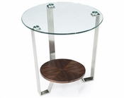 Magnussen Shaped End Table Pollock MG-T2117-05
