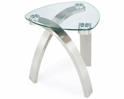 *Magnussen Shaped End Table Zaria MG-T2173-25