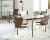Manon Dining Set w/ Oval Table Euro Style EU-90190Set