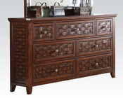Marble Top Dresser Carmela by Acme Furniture AC24785