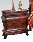 Marble Top Nightstand Dorothea by Acme Furniture AC20593