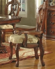 MCF Furniture Antique Cherry Arm Chair MCFD6005CA (Set of 2)