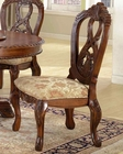 MCF Furniture Antique Cherry Side Chair MCFD6005CS (Set of 2)