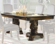 MCF Furniture Double Pedestal Dining Table MCFD8800T
