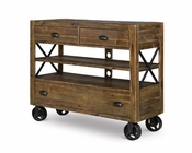 Media Chest with Casters River Road by Magnussen MG-B2375-36
