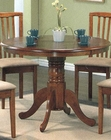 Medium Oak Pedestal Dining Table CO-101091