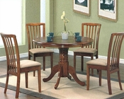 Medium Oak Wood Dinette Set CO-101091s