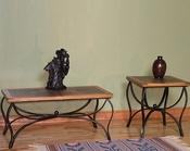 Metal Base Occasional Table Set SU-3125ROs