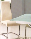 Metal Dining Chair in Ivory OL-DC21