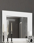 White Single Dresser Mirror in Modern Style Carmen 33181CA