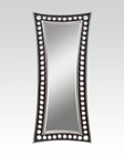 Mirror in Silver and Coffee by Acme Furniture AC97110
