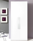 Modern 2 Door Wardrobe in White Made in Italy 33B79