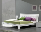 Modern Bed in White Made in Italy 33B72