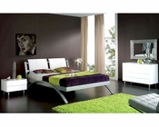 Modern Bedroom Set Nita in White Made in Spain 33B341