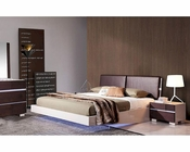 Modern Bedroom Set w/ Floating Bed with LED Lights 44B168SET