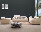 Modern Beige Fabric Sofa Set 44L0871