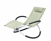 Modern Metal Lounging Chair 44P111-CH